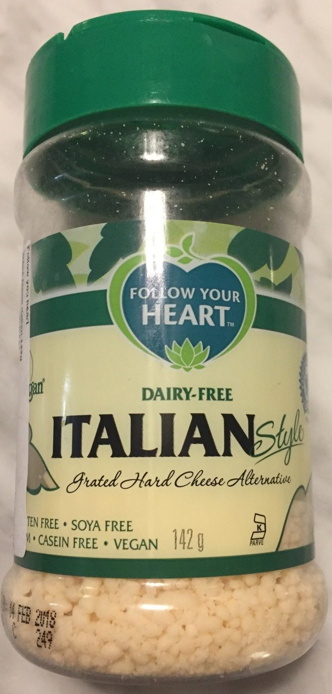 Grated hard cheese alternative - Product - fr
