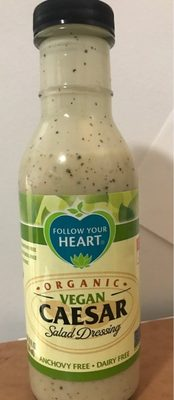 Organic vegan salad dressing, caesar - Product - en