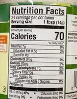 Vegenaise gourmet dipping sauce & spread, pesto - Nutrition facts - en
