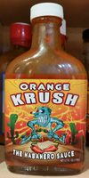 Rasta Fire - Orange Krush - The Habanero Sauce - Product