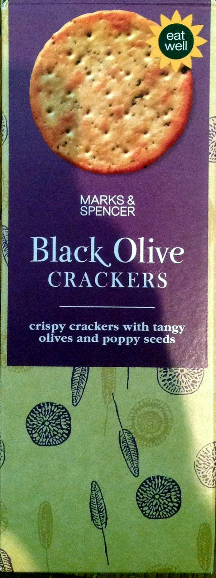 Black Olive crackers - Produit - en