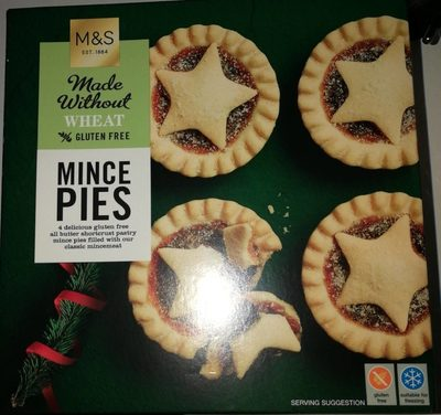 Mince Pies Made Whithout Wheat - Product