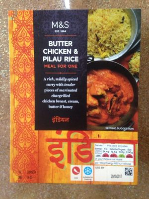 Butter chicken et riz pilaf - Product