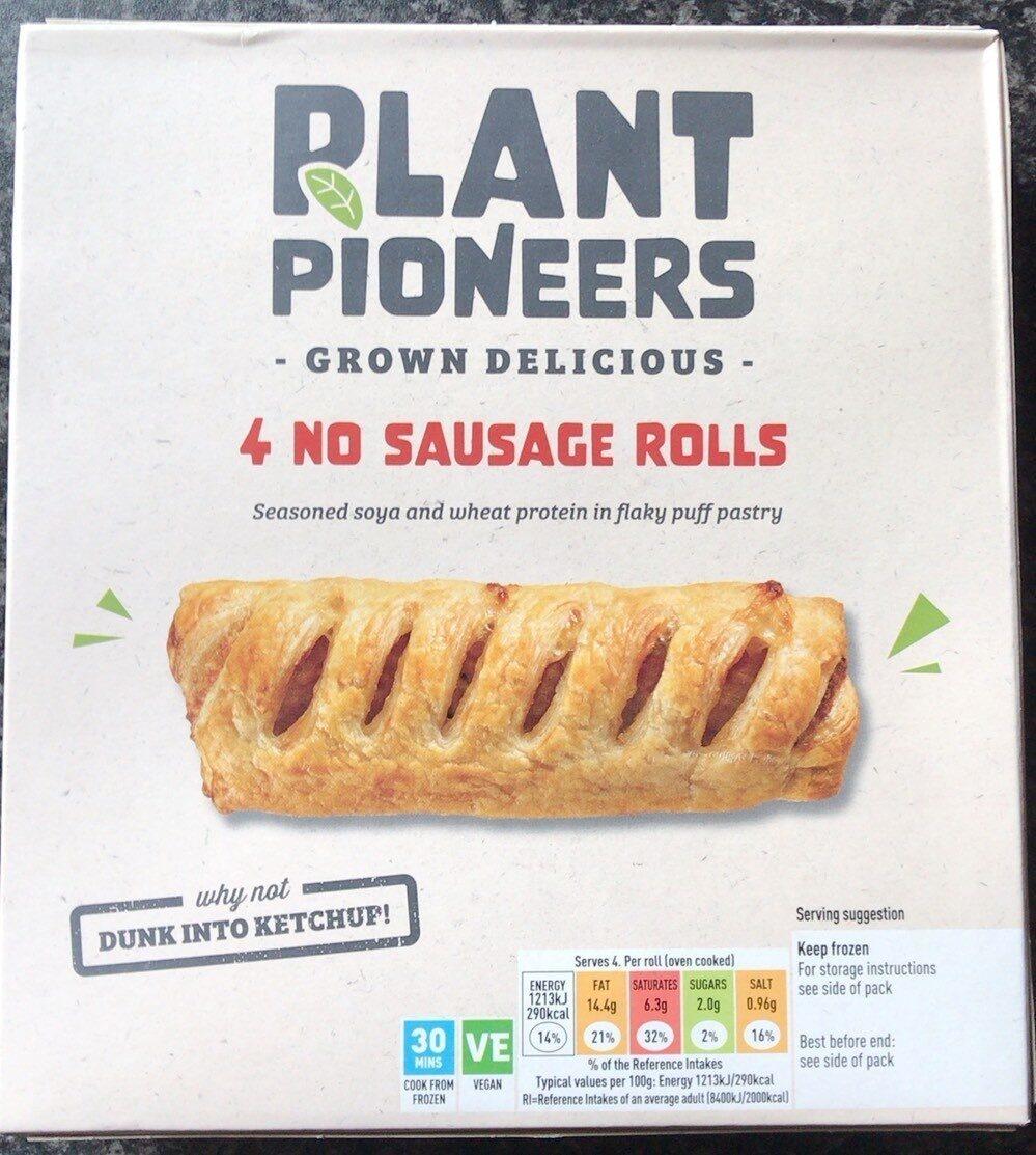 4 No sausage rolls - Product - en