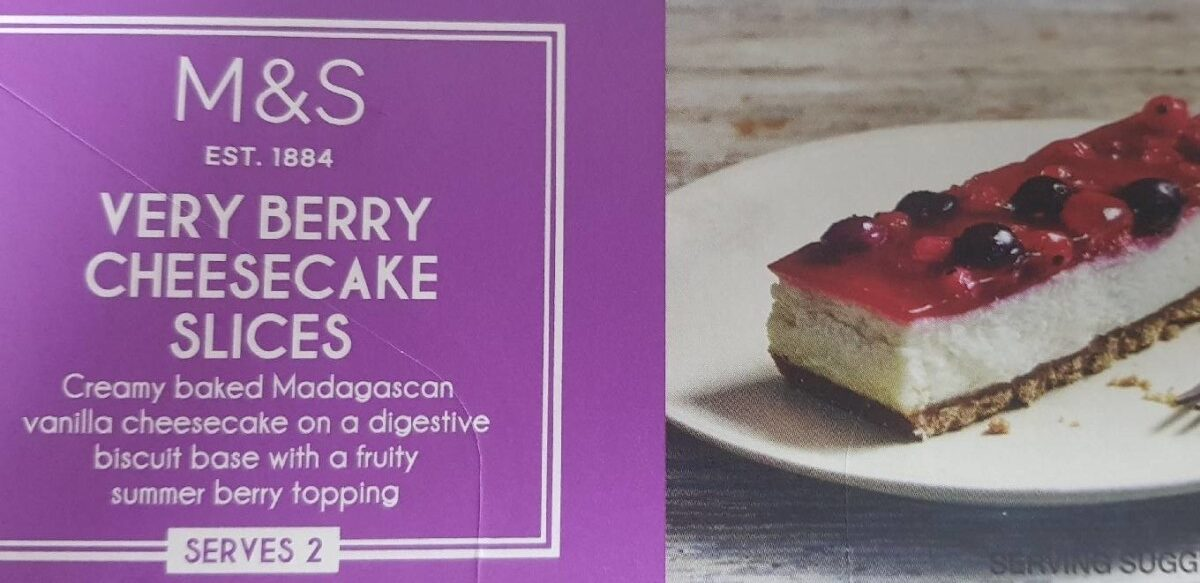 Cheesecake fruit rouge - Product