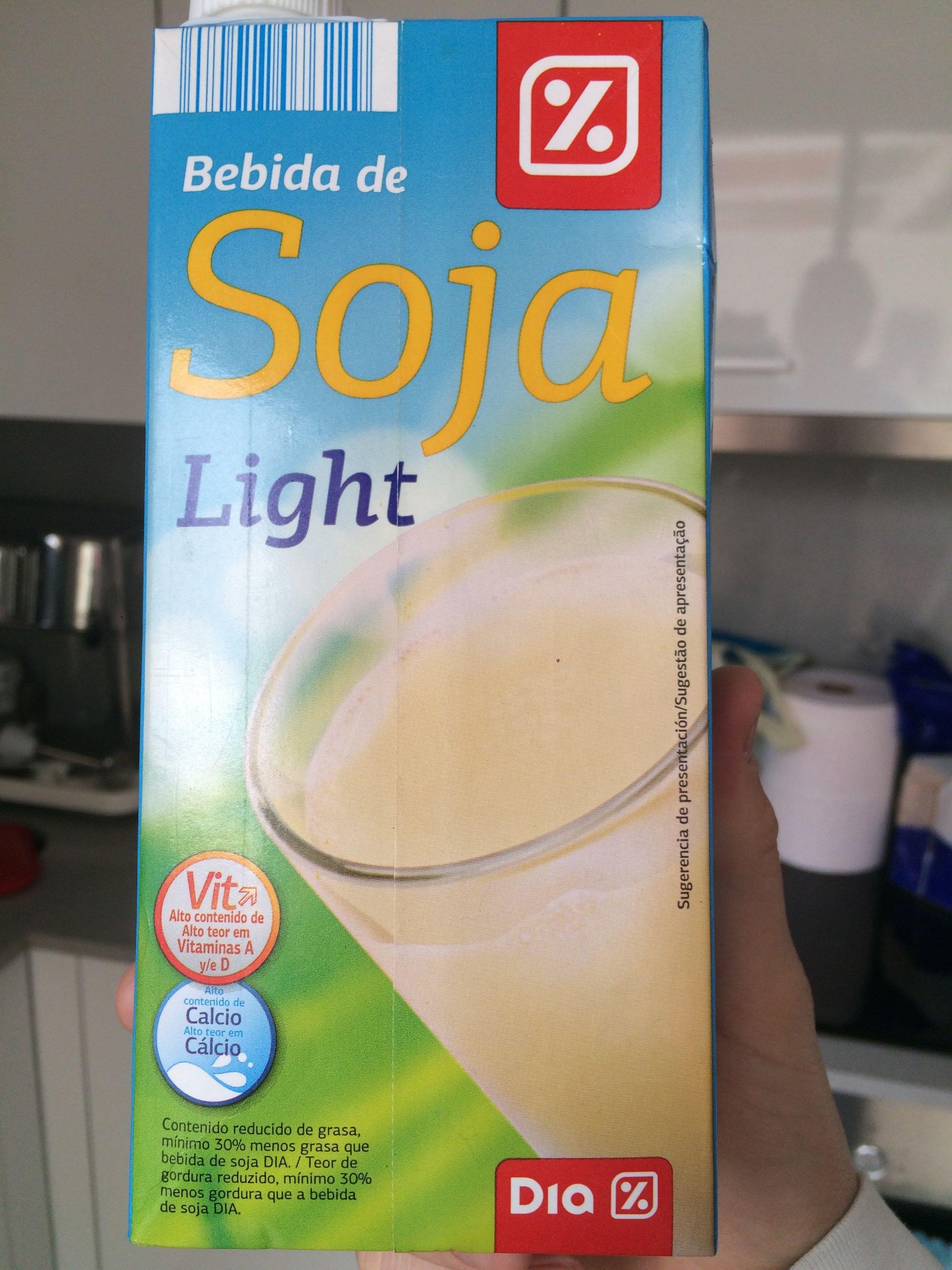 Bebida de soja light - Producto - es