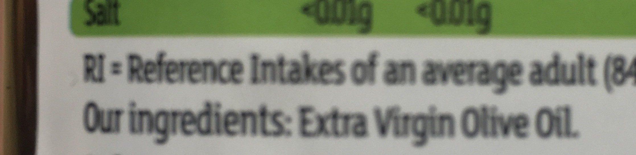 Extra virgin olive oil - Ingrédients - fr