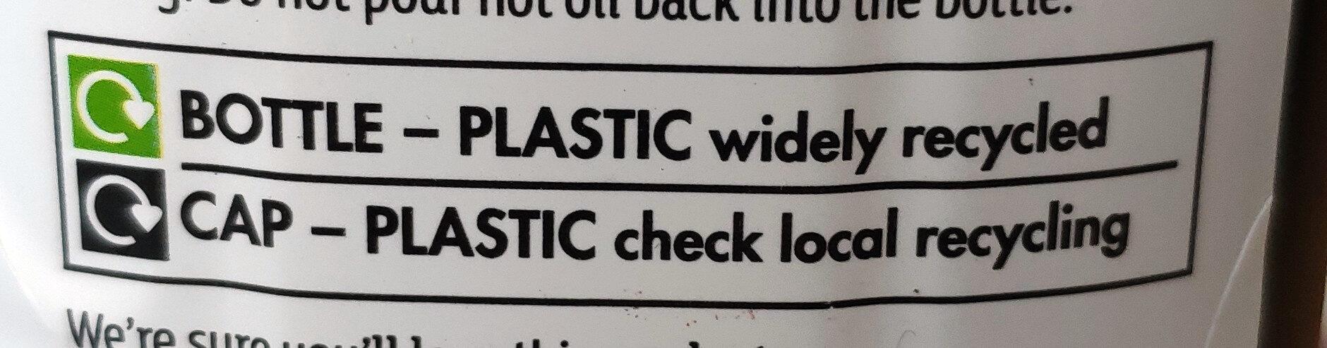 Extra virgin olive oil - Instruction de recyclage et/ou informations d'emballage - en