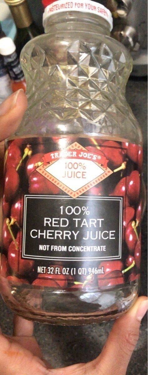 100% Red Tart Cherry Juice - Product - en