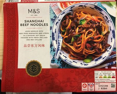 Shanghai Beef Noodles - Product