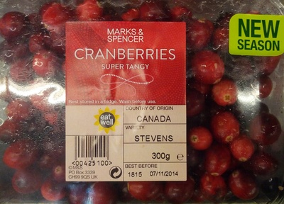 Cranberries - Product - en