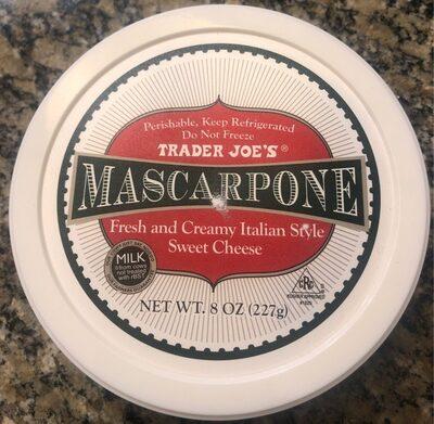Mascarpone Fresh and Creamy Italian Style Sweet Cheese - Product
