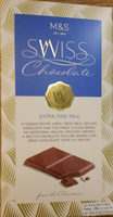 SWISS Chocolate Extra Fine Milk - Product