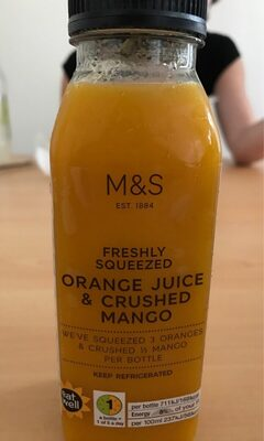 Orange Juice & Crushed Mango - Product