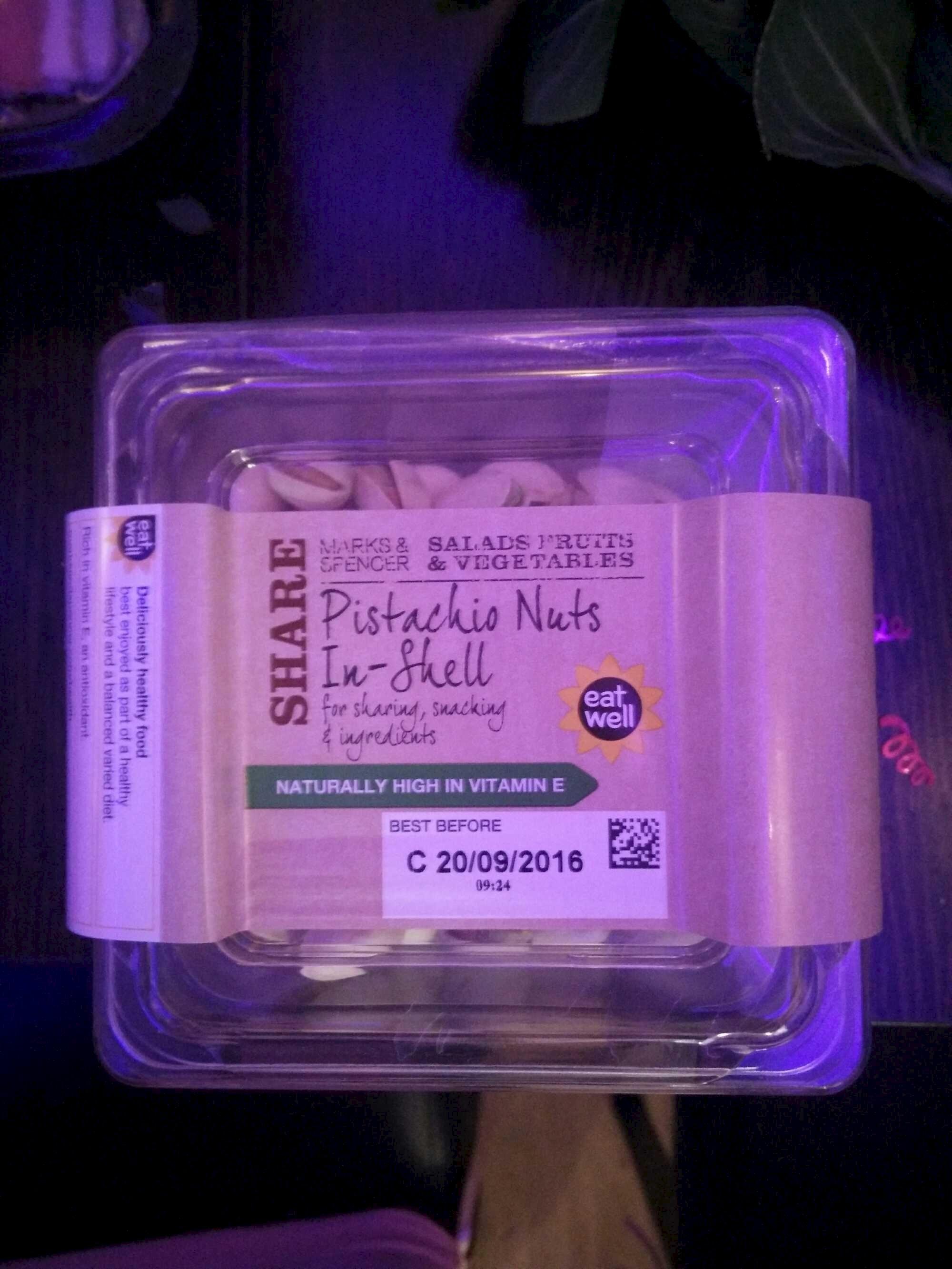 Pistachio nuts in-shell - Product - en