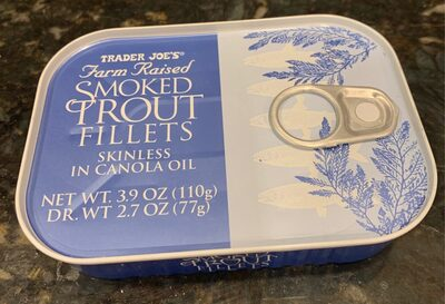 Farm Raised Smoked Trout Filets - Produit - en