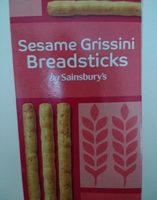 Sesame Grissini Breadsticks - Product