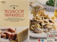 Mushroom Pappardelle - Product