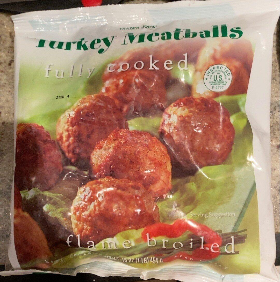 Turkey meatballs - Product - en