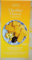 Cheddar Cheese Crispies - Product - fr