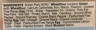 Mini Snack Eggs - Ingredients