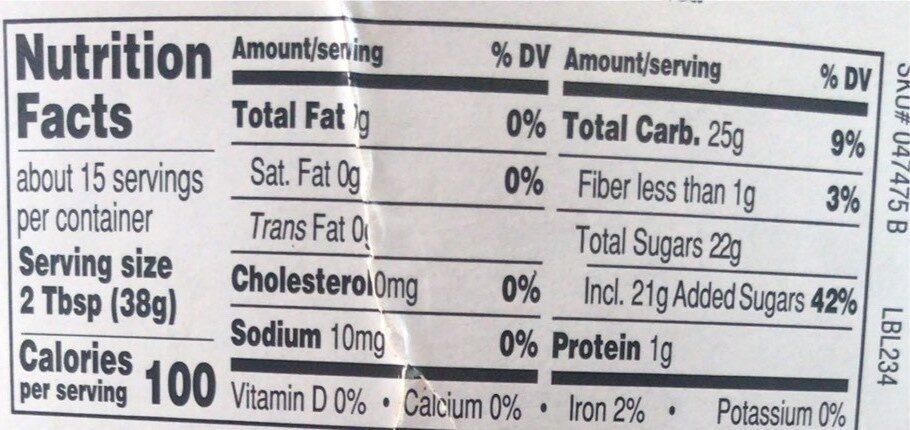 Midnight Moo - Nutrition facts - en