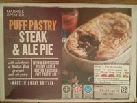 Puff Pastry Steak & Ale Pie - Product