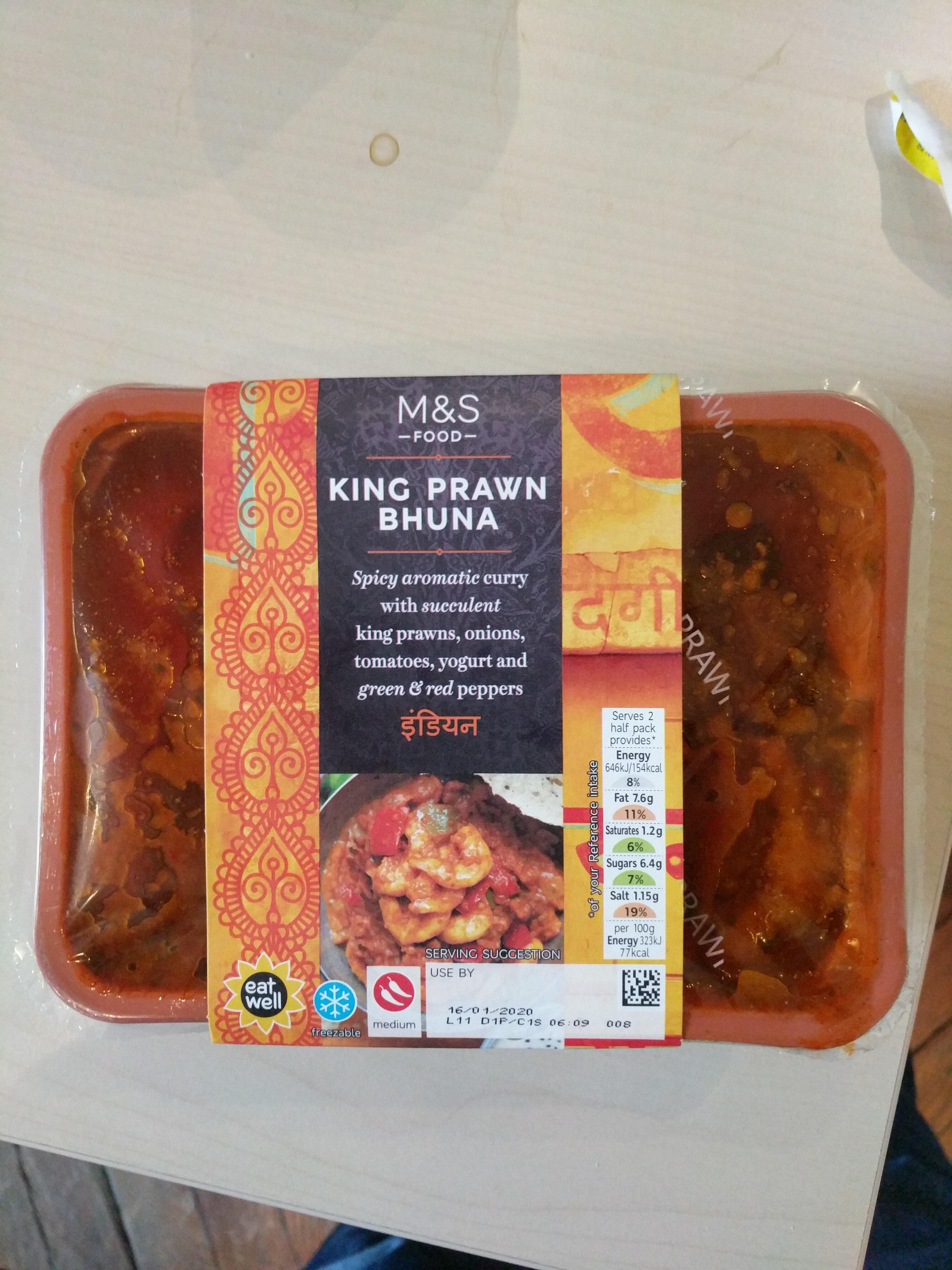 King prawn bhuna - Product - en