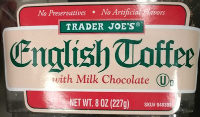 English Toffee - Product