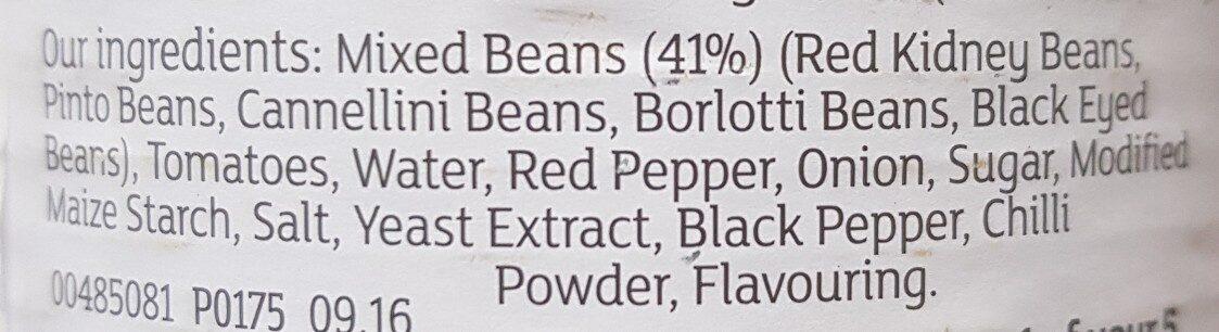 Mixed beans - Ingredients - en