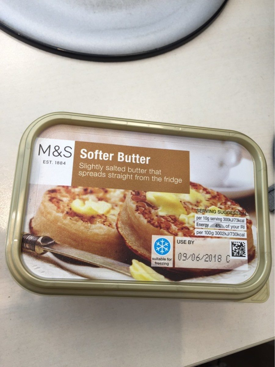 Softer butter - Product