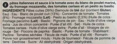 Chicken pasta bake - Ingredients