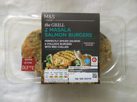 2 Masala salmon burgers - Product - en