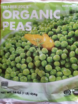 Organic Peas - Product