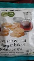 Chips au sel de mer et au vinaigre - Product - fr