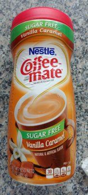 Vanilla caramel sugar free coffee creamer, vanilla caramel - Product - en