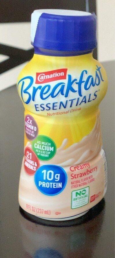 Breakfast essentials Creamy Strawberry - Prodotto - la