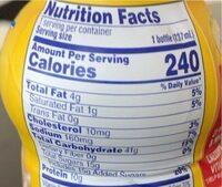 Breakfast essentials Creamy Strawberry - Valori nutrizionali - la
