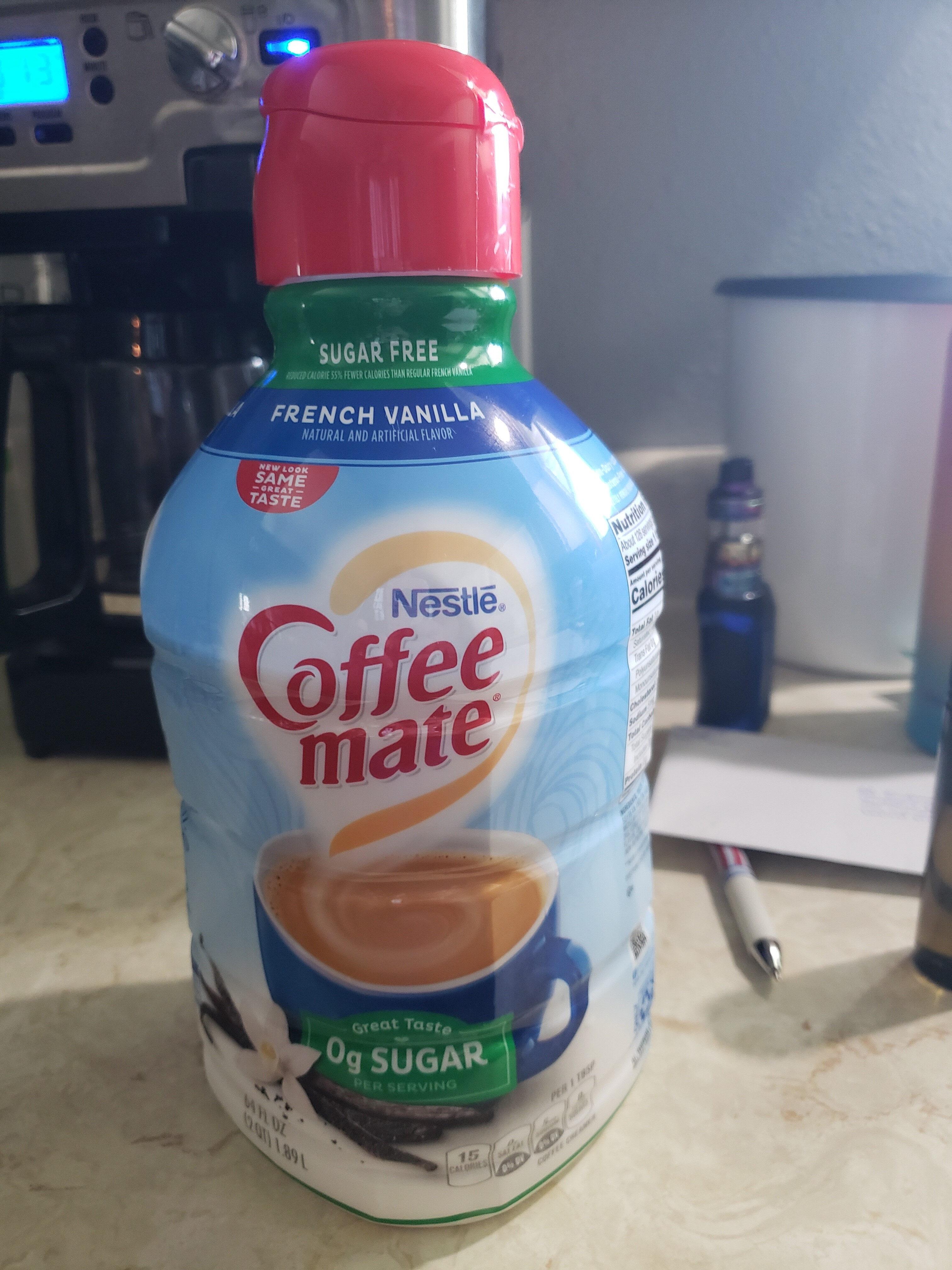 Sugar free french vanilla coffee creamer - Product - en