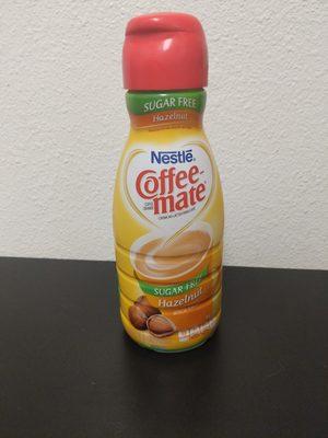 Coffee-mate Sugar Free Hazelnut - Product