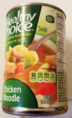 HEALTHY CHOICE Chicken Noodle Soup, 15 OZ - Product - en