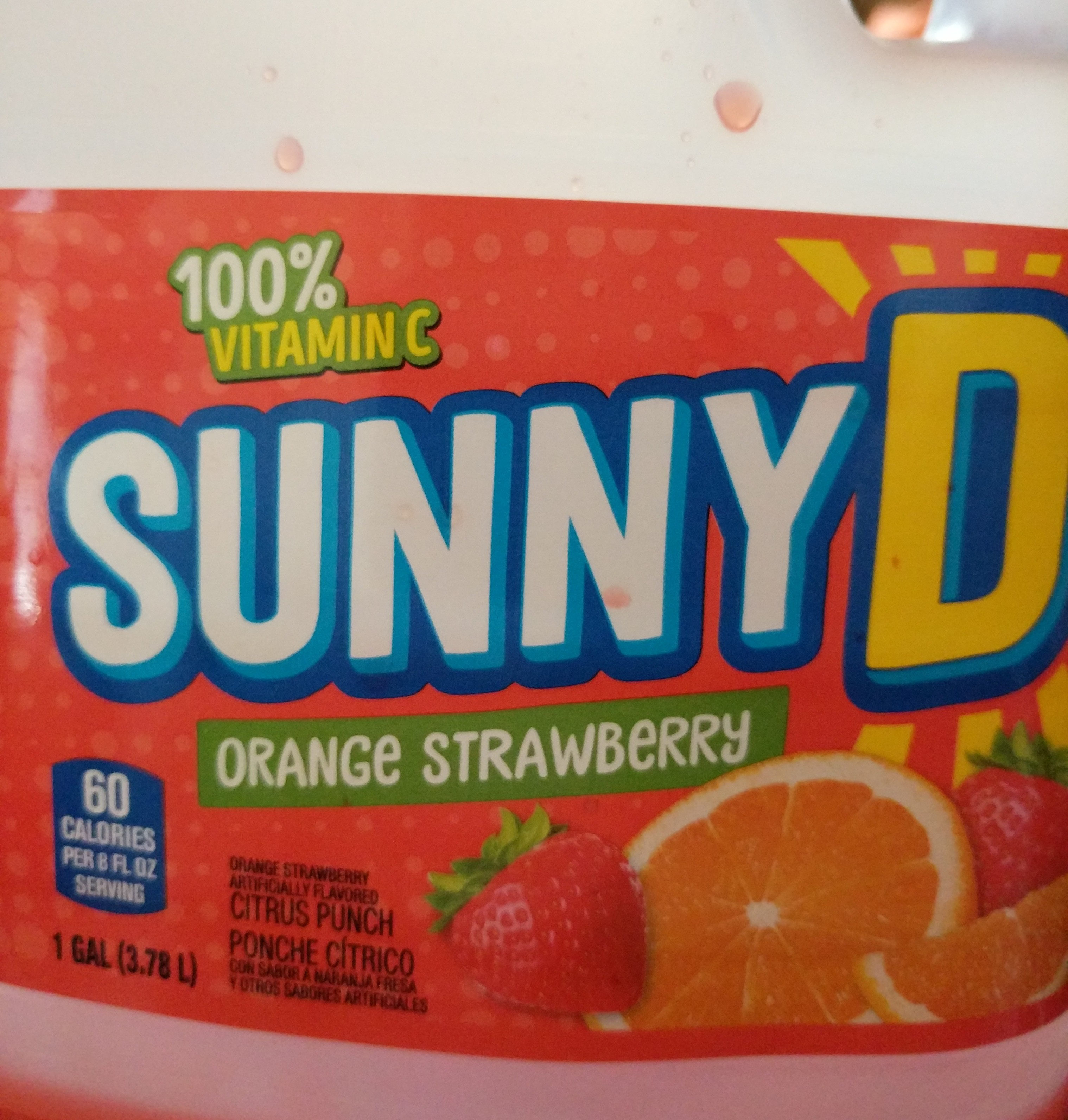 Citrus Punch Drink, Orange Strawberry - Product