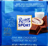 Ritter sport, fine milk chocolate - Product