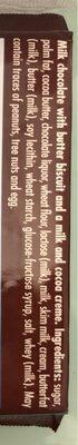 Ritter Sport Chocolat Au Lait Avec Biscuit Au Beurre 10 - Ingredients