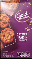 Oatmeal Raisin Cookies - Product - en