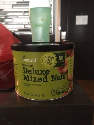 Unsalted deluxe mixed nuts, unsalted - Producto - es