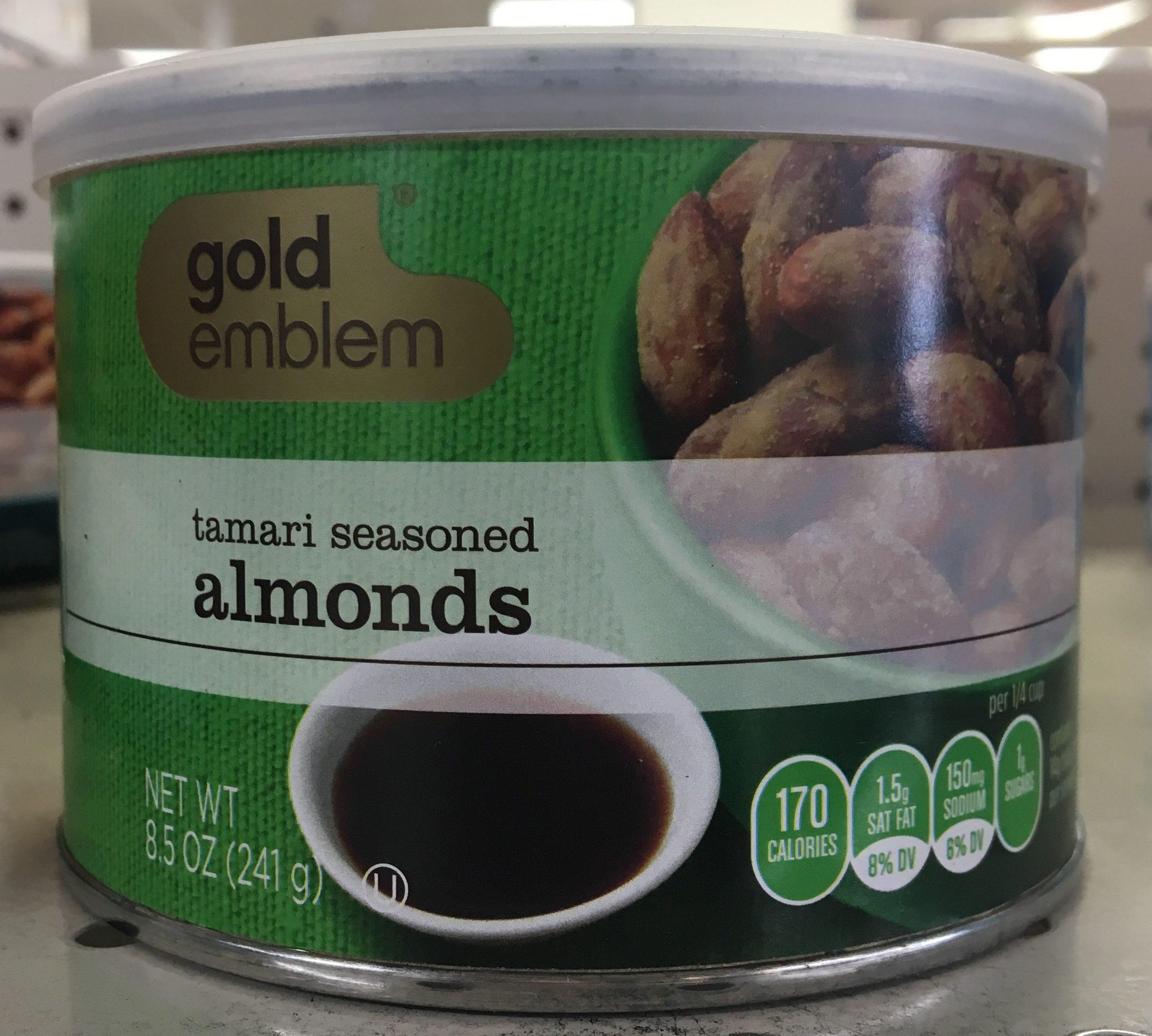 Tamari seasoned almonds - Product - en