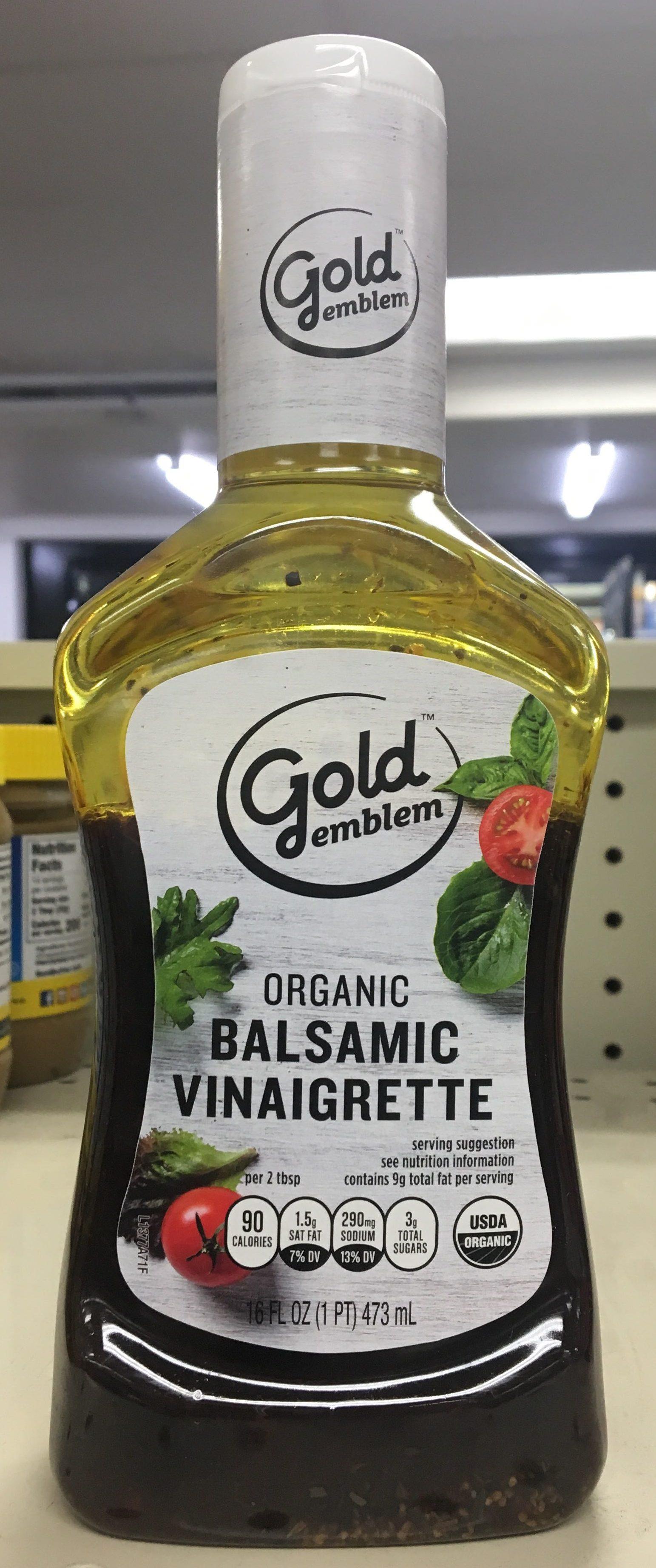 Organic Balsamic Vinaigrette - Product