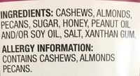Deluxe Mixed Nuts - Ingredients