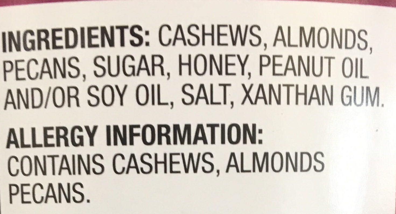 Deluxe Mixed Nuts - Ingredients - en